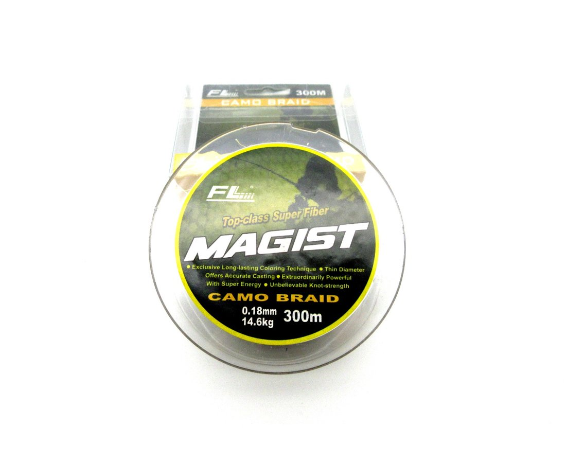 ПЛЕТЁНКА MAGIST CAMO BRAID 300m