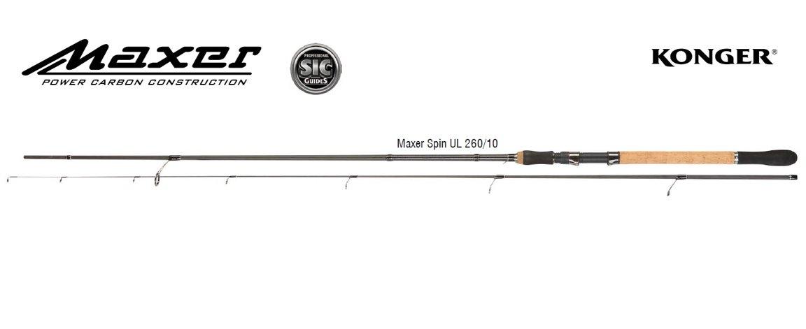 СПИННИНГ KONGER MAXER SPIN UL 260cm/10