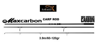 HOKKAIDO MAXCARBON CARP ROD 3.9m/60-120GR